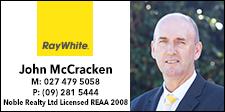 Ray White - John McCracken
